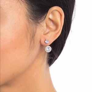 Swarovski Cristal Earrings in Sterling Silver